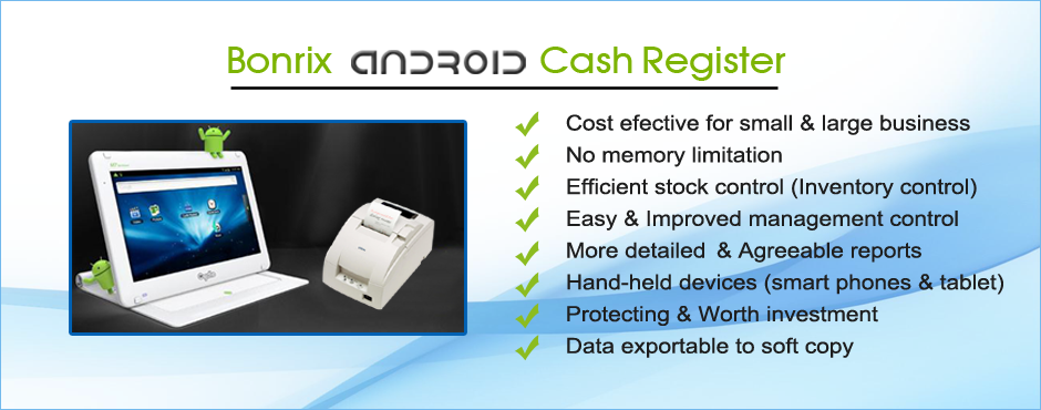 Bonrix Android Cash Register